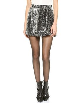 sequins-skirt by joa