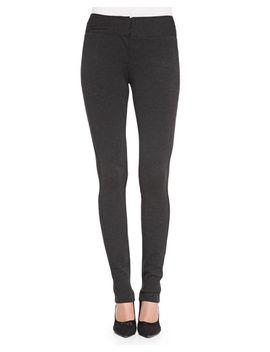 structured-knit-stretch-leggings by diane-von-furstenberg