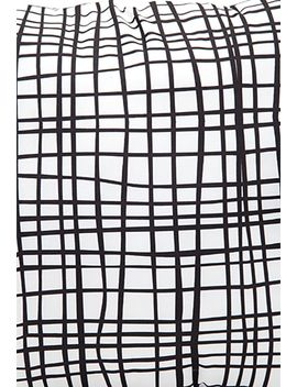abstract-windowpane-print-pillow by forever-21