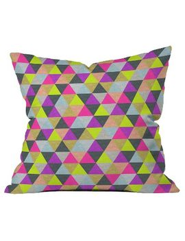 ocean-of-pyramid-throw-pillow---deny-designs® by deny-designs