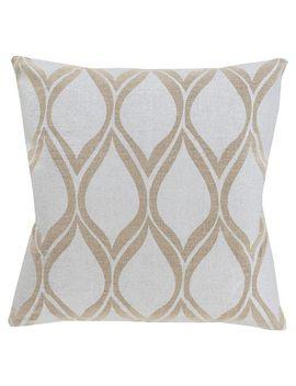 linen-ogee-throw-pillow---surya by surya