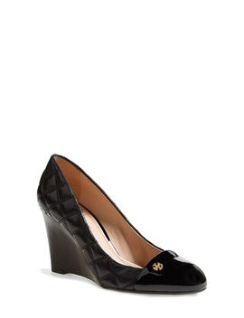 claremont-quilted-wedge-pump by tory-burch