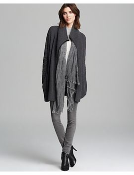 leather-trim-drape-cardigan by vince