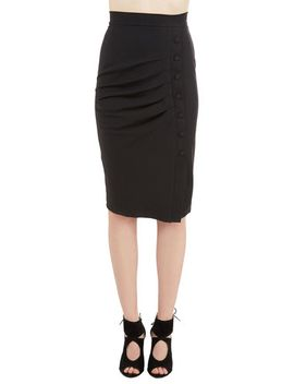 a-trip-into-town-pencil-skirt-in-black by modcloth