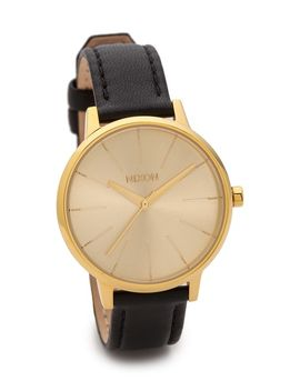 kensington-leather-watch by nixon