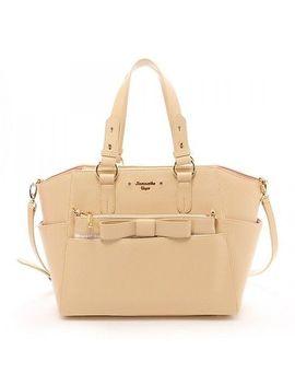 samantha-vega-thavasa-tote-bag-plaid-pochette-shoulder-bow-a4-business-large by samantha-vega