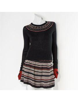 princess-vera-wang-placed-fair-isle-sweater---juniors by kohls