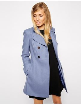 asos-coat-in-60s-skater by asos-collection