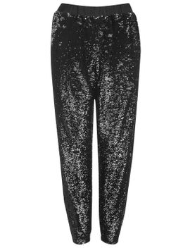two-tone-sequin-joggers by topshop
