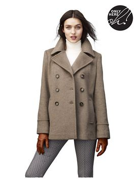 double-breasted-pea-coat by calvin-klein