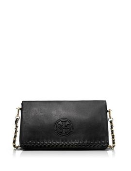 marion-fold-over-messenger by tory-burch