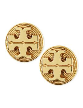golden-livia-stud-earrings by tory-burch