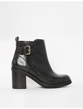 river-island-bazo-buckle-strap-ankle-boots by river-island