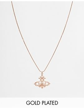 vivienne-westwood-isolde-bass-relief-pendant-necklace by vivienne-westwood
