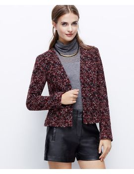 textured-tweed-jacket by ann-taylor