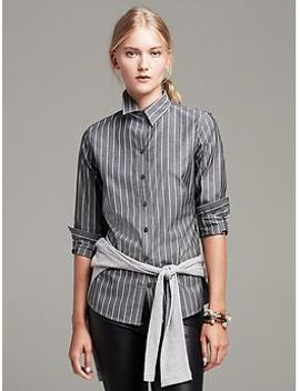 fitted-non-iron-bold-stripe-shirt by banana-repbulic