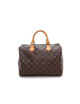 louis-vuitton-monogram-speedy-bag by what-goes-around-comes-around