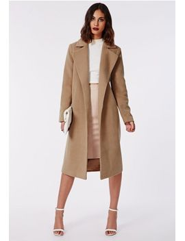 kimberley-premium-waterfall-coat-camel by missguided