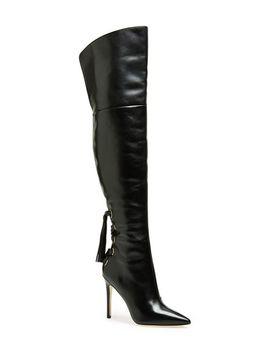 femke-pointy-toe-over-the-knee-boot by via-spiga