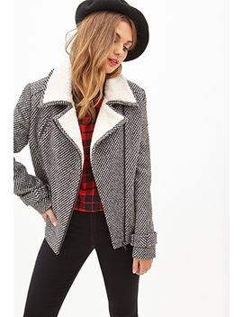 tweed-moto-jacket by forever-21
