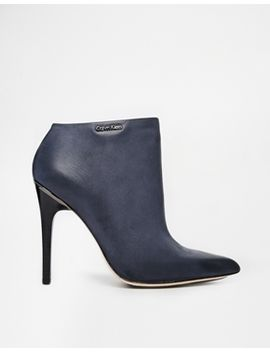 calvin-klein-raphaela-pointed-heeled-ankle-boots by calvin-klein