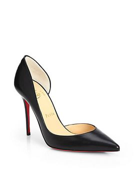 iriza-leather-dorsay-pumps by christian-louboutin