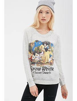 snow-white-raglan-sweatshirt by forever-21