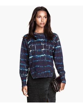 patterned-sweatshirt by h&m