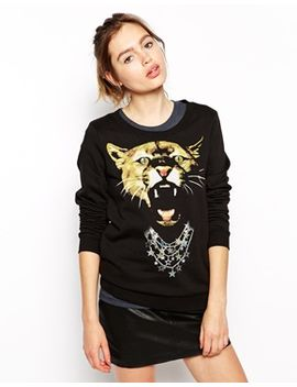 puma-sweatshirt-with-cat-print by puma