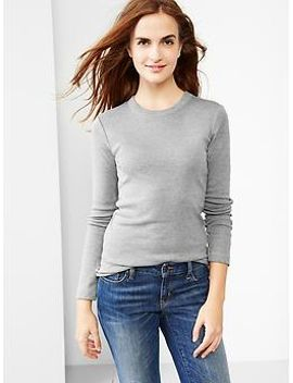 supersoft-crewneck-tee by gap