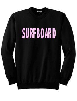 bad-beyhavior---surfboard---beyonce---black-sweatshirt---cropped-or-full-length---plus-sizes by rebdolls