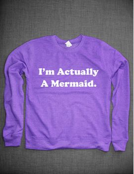 im-actually-a-mermaid-crew-neck-sweatshirt by resiliencestreetwear