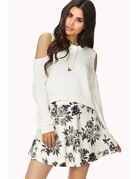 dainty-floral-skirt by forever-21