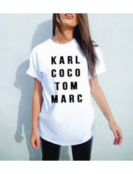 karl-coco-tom-marc-t-shirt---womens,-unisex by badboyhenry
