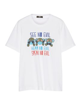 see-no-evil-cotton-t-shirt by markus-lupfer
