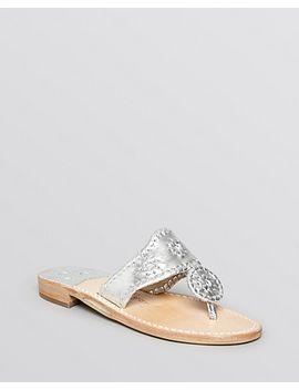 womens-hamptons-metallic-thong-sandals by jack-rogers