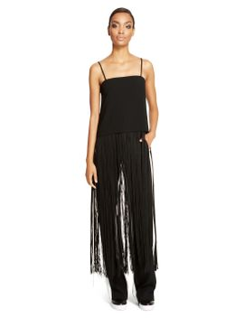 fringe-cami-top by dkny