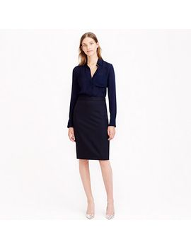 petite-pencil-skirt-in-pinstripe-super-120s-wool by jcrew