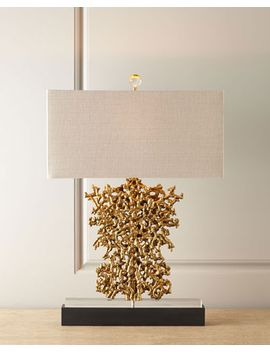 gold-rush-lamp by john-richard-collection