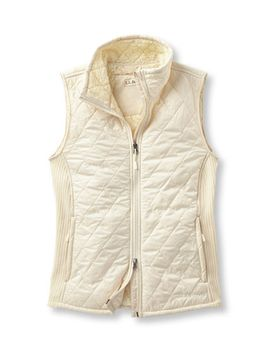 fleece-lined-fitness-vest by llbean