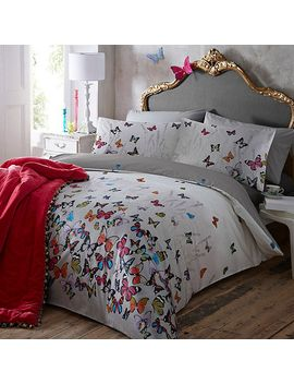 butterfly-home-by-matthew-williamson---light-grey-butterflies-bedding-set by butterfly-home-by-matthew-williamson