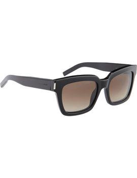 classic-square-frame-sunglasses by saint-laurent