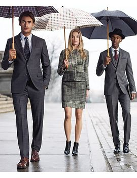 tattersall-umbrella by brooks-brothers