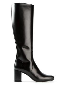 babies-mid-calf-boots by saint-laurent