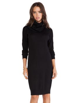 slouchy-collar-dress by haute-hippie