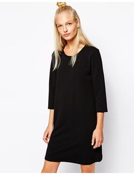 monki-3_4-sleeve-knitted-dress by monki