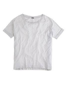 roll-sleeve-t-shirt by jcrew