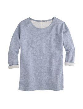 sweatshirt-tunic by jcrew