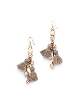 pearl-tassel-earrings by jcrew