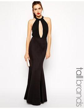 jarlo-tall-plunge-keyhole-maxi-dress by maxi-dress